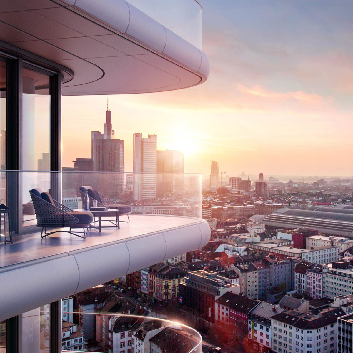 Baufirmen In Frankfurt grand tower gsp städtebau